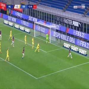 Milan [2]-2 Verona - Zlatan Ibrahimovic 90'+3'