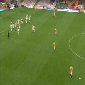 Motherwell [1]-2 Celtic: Declan Gallagher 72'