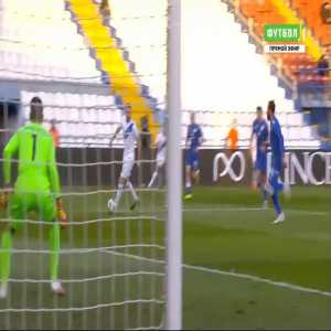 Greece 1-0 Cyprus - Christos Tzolis 8'