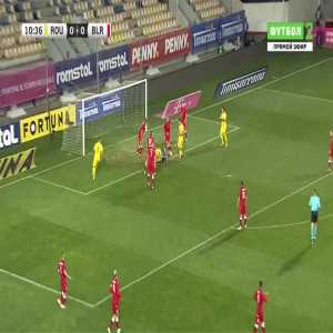 Romania 1-0 Belarus - Bogdan Mitrea 11'
