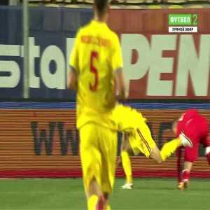 Romania 2-0 Belarus - Razvan Marin penalty 20'