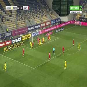 Romania 3-0 Belarus - Ionut Nedelcearu 31'