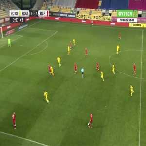 Romania 5-[3] Belarus - Vladislav Klimovich 90'+2'