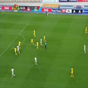 Algeria 3-0 Zimbabwe - Riyad Mahrez 67'