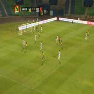 Gabon 2-0 Gambia - Pierre-Emerick Aubameyang 55'