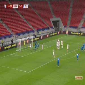 Hungary 0-1 Iceland - Gylfi Sigurdsson 11'