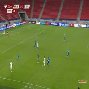Hungary [2]-1 Iceland - Dominik Szoboszlai 90'+2'