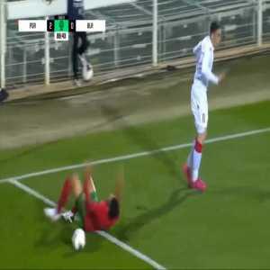 Portugal U21 3-0 Belarus U21 - Gonçalo Ramos penalty 90'