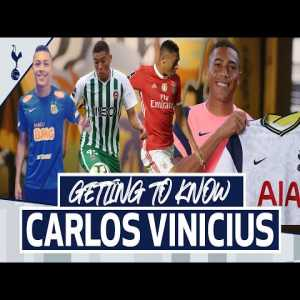Get to know - Brazilians Lucas Moura and Carlos Vinicius in London