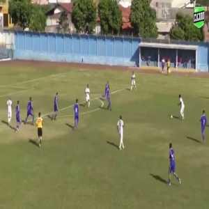 Nice goal in Brazilian Serie D