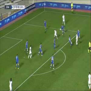 Cyprus 0-1 Luxembourg - Ioannis Kousoulos OG 5'