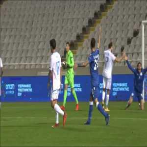 Cyprus [1]-1 Luxembourg - Grigoris Kastanos PK 34'