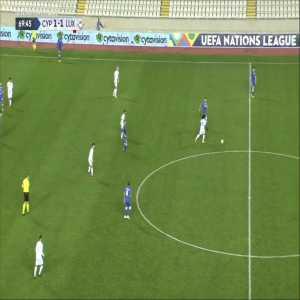 Cyprus [2]-1 Luxembourg - Grigoris Kastanos 70'