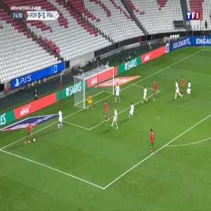 Hugo Lloris (France) save against Portugal 75'