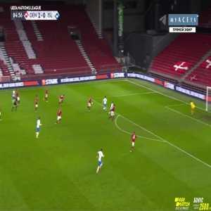 Denmark 1-[1] Iceland - Vidar Orn Kjartansson 85'