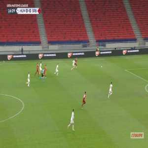 Hungary 0-1 Serbia - Nemanja Radonjic 17'
