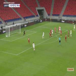 Hungary [1]-1 Serbia - Zsolt Kalmar 39'