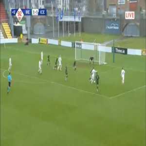 Ireland U21 1-[2] Iceland U21 - Valdimar Ingimundarson 90'+3'