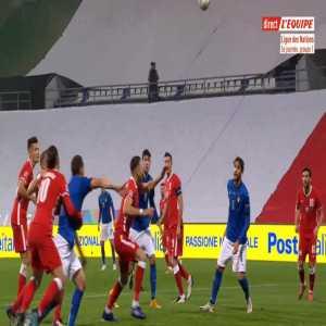 Italy 1-0 Poland - Jorginho penalty 27'