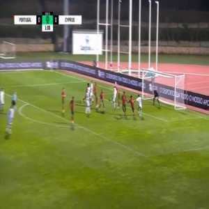 Portugal U21 0-1 Cyprus U21 - Panagiotis Artymatas 2'