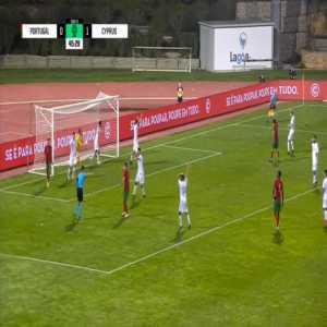 Portugal U21 [1]-1 Cyprus U21 - Gedson Fernandes penalty 45'+1'