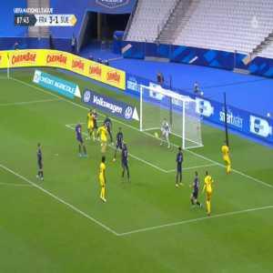 France 3-[2] Sweden - Robin Quaison 88'