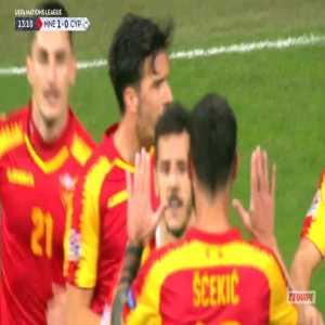 Montenegro 1-0 Cyprus - Stevan Jovetic 14'