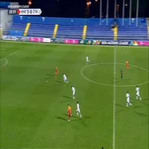 Montenegro 4-0 Cyprus - Stefan Mugosa 60'