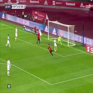 Spain [2] - 0 Germany - Ferran Torres 33'