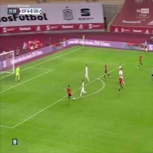 Spain 5 - 0 Germany - Ferran Torres (hat-trick) 71'