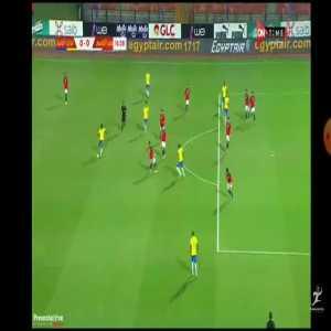 Brazil U23 [1]-0 Egypt U23 - Matheus Cunha 16'