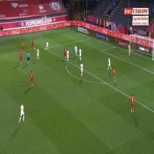 Belgium 1-0 Denmark - Youri Tielemans 3'