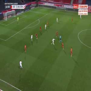 Belgium 1-[1] Denmark - Jonas Older Wind 18'