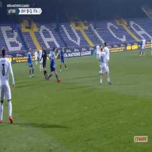 Bosnia & Herzegovina 0-2 Italy - Domenico Berardi 68'