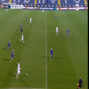 Bosnia Herzegovina vs Italy - Insigne control and chance