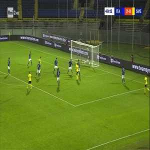 Italy U21 2-[1] Sweden U21 - Jesper Karlsson 50'