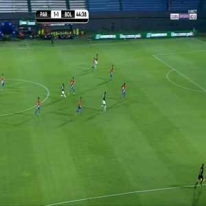 Paraguay 1-[2] Bolivia - Boris Cespedes 45'
