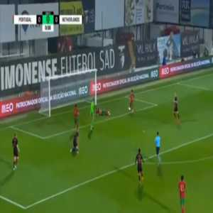 Portugal U21 1-0 Netherlands U21 - Fabio Vieira 2'