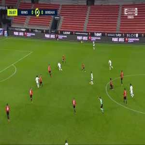 Rennes 0-1 Bordeaux - Hatem Ben Arfa 37'