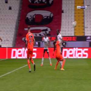 Besiktas 3-0 Basaksehir - Vincent Aboubakar penalty 72'