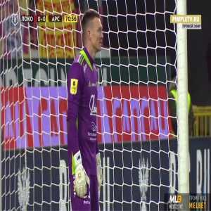 Lokomotiv Moscow 1-0 Arsenal Tula - Anton Miranchuk penalty 71'