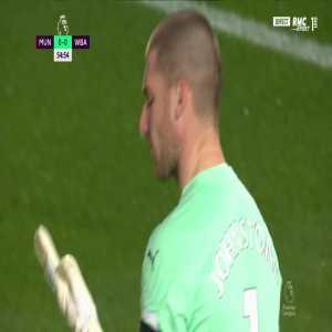 Manchester United [1] - 0 West Brom - Bruno Fernandes (penalty) 56'
