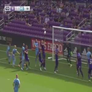Orlando City 1-[1] New York City - Maxime Chanot 8'