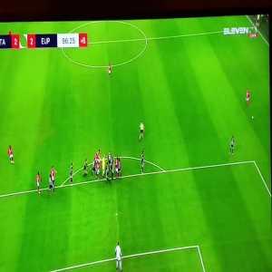 Standard Liege [2]-2 Eupen - Bodart 90+7' (goalkeeper goal)