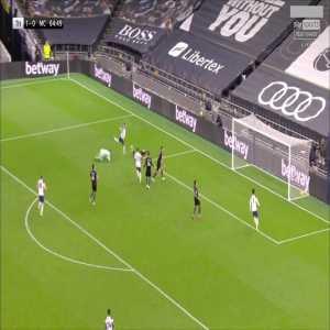 Tottenham [2] - 0 Manchester City - Giovani Lo Celso 65'
