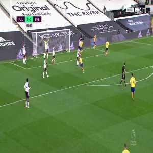 Fulham 0 - [1] Everton - Calvert-Lewin 1'
