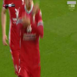 Liverpool [3] - 0 Leicester - Roberto Firmino 86'