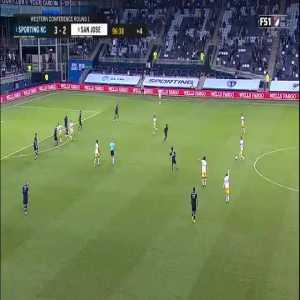 Sporting KC 3-[3] San Jose Earthquakes - Chris Wondolowski 90+7' | MLS Playoffs