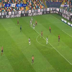 Udinese 1-0 Genoa - Rodrigo De Paul 35'
