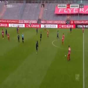 Wurzburger Kickers [1]-1 Hannover - Ridge Munsy 53'